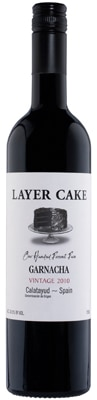 Layer Cake 2010 Garnacha hails from Calatayud, Spain