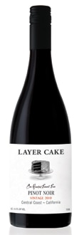 Layer Cake 2010 Pinot Noir, one of our Top Wines Under $20, offers blackberry, cherry and plum flavors, a dense mouthfeel and an earthy finish