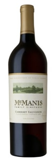 McManis 2010 Cabernet Sauvignon, one of our Top Wines Under $20, offers dark berry aromas with hints of mocha and toffee