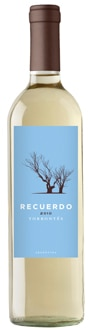 Recuerdo 2010 Torrontes, one of our Top Wines Under $20