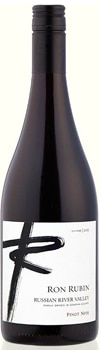 Ron Rubin 2013 Russian River Valley Pinot Noir has a lingering earthy finish