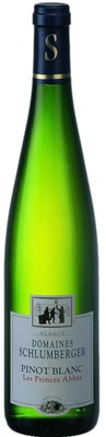 Domaines Schlumberger 2011 Pinot Blanc Les Princes Abbes is named for the abbots who first sold wine produced in the area