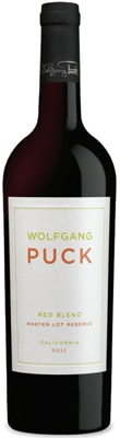 Wolfgang Puck 2010 Red Blend boasts dark fruit flavors with hint of spice
