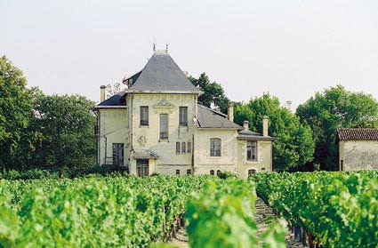 Chateau La Louviere in Pessac-Leognan, Bordeaux, France