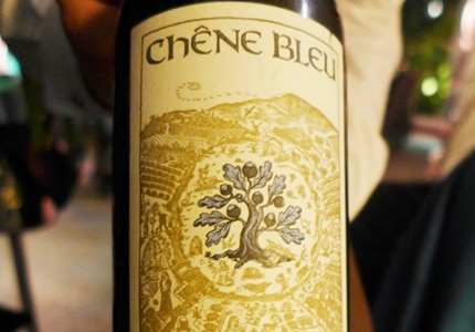 Chene Bleu Abelard is a silky grenache with blackberry and cherry flavors