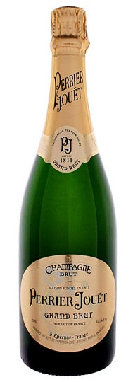 A bottle of Perrier-Jouet Grand Brut, our Wine of the Week review