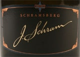 Wine label of Schramsberg 2003 J. Schram, our Wine of the Week review