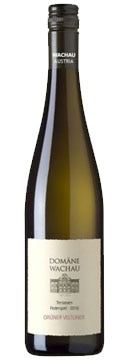 A bottle of Domäne Wachau 2010 Terrassen Federspiel Grüner Veltliner, our Wine of the Week