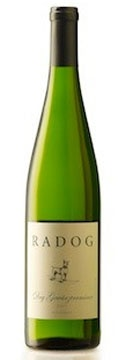 A bottle of Radog 2007 Dry Gewürztraminer, our wine of the week