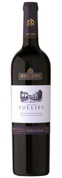 A bottle of Aveleda 2006 Follies Touriga Nacional, our wine of the week