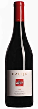 A bottle of Dashe Cellars 2008 Todd Brothers Ranch Petite Sirah, our Wine of the Week review