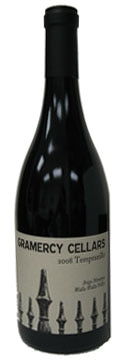 A bottle of Gramercy Cellars 2008 Inigo Montoya Tempranillo, our Wine of the Week review