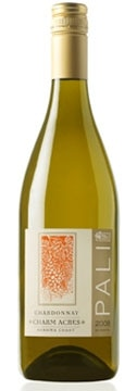 A bottle of Pali Wine Co. 2009 Charm Acres Chardonnay, our Wine of the Week review
