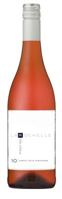 A bottle of La Rochelle Winery 2010 Rose of Pinot Noir, our wine of the week
