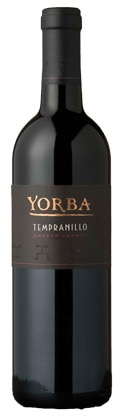 A bottle of Yorba Wines 2007 Tempranillo, our wine of the week