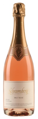 A bottle of Schramsberg 2008 Brut Rose, our wine of the week