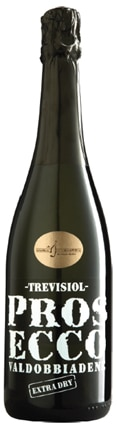 A Trevisiol NV Prosecco Extra Dry, our wine of the week