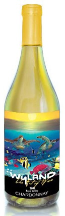 A bottle of Wyland Cellars 2008 Napa Chardonnay, our wine of the week