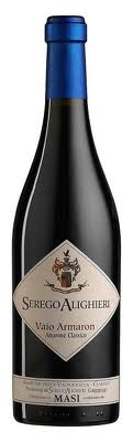 A bottle of Serego Alighieri 2004 Vaio Armaron Amarone Classico, our wine of the week