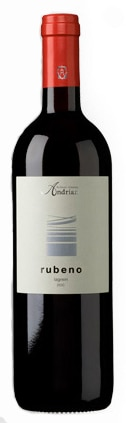 A bottle of Kellerei-Cantina Andrian 2007 Rubeno, our wine of the week
