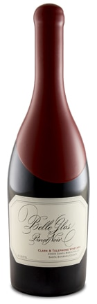 A bottle of Belle Glos 2009 Clark & Telephone Vineyard Pinot Noir, our wine of the week