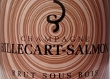 Wine label of Champagne Billecart-Salmon Brut Sous Bois, our wine of the week