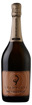 A bottle of Champagne Billecart-Salmon Brut Sous Bois, our wine of the week