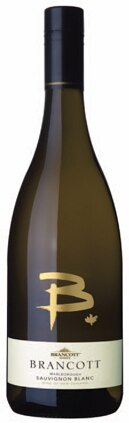 A bottle of Brancott Estate 2010 'B' Sauvignon Blanc, our wine of the week