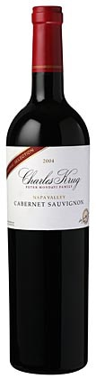 A bottle of Charles Krug 2008 Family Reserve Generations, our wine of the week