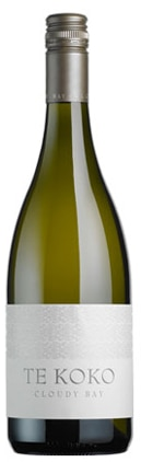 A bottle of Cloudy Bay Vineyards 2009 Te Koko Sauvignon Blanc, our wine of the week