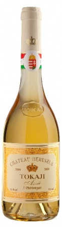 A bottle of Chateau Dereszla 2006 Tokaji Aszu 5 Puttonyos, our wine of the week