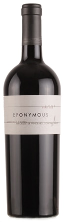 A bottle of Eponymous 2009 Cabernet Franc, our wine of the week