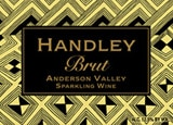 Wine label of Handley Cellars 2003 Brut, our wine of the week