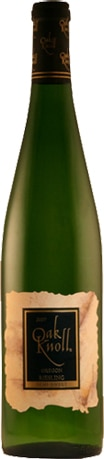 A bottle of Oak Knoll Winery 2008 Riesling, our wine of the week