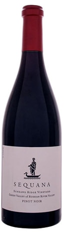 A bottle of Sequana 2008 Sundawg Ridge Vineyard Pinot Noir, our wine of the week