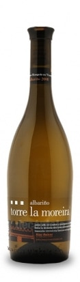 A bottle of Bodegas Marques de Vizhoja Torre La Moreira Albarino, our wine of the week