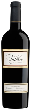 A bottle of Trefethen Family Vineyards 2008 Reserve Cabernet Sauvignon, our wine of the week