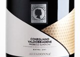 Wine label of Altadonna Prosecco Superiore DOCG, our wine of the week