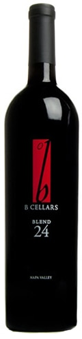 A bottle of B Cellars 2009 Blend 24, our wine of the week