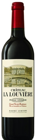 A bottle of Chateau La Louviere 2006 Rouge, our wine of the week