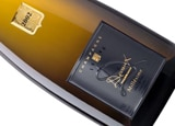 Wine label of Champagne Devaux D 2002, our wine of the week