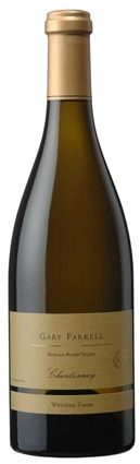 A bottle of Gary Farrell 2009 Chardonnay, Westside Farms, our wine of the week