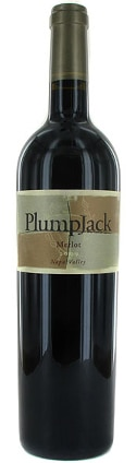 A bottle of PlumpJack Winery 2010 Merlot, our wine of the week