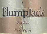 Wine label of PlumpJack 2010 Merlot