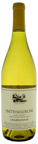 A bottle of Smith-Madrone 2009 Chardonnay, our wine of the week
