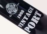 Wine label of V. Sattui 1998 Vintage Port, our wine of the week