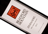 Wine label of Bradford Mountain 2011 Dry Creek Zinfandel, our wine of the week