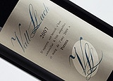 Wine label of 2007 Vall Llach, our wine of the week