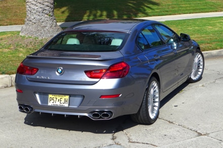 2015 Alpina B6 rear three quarter