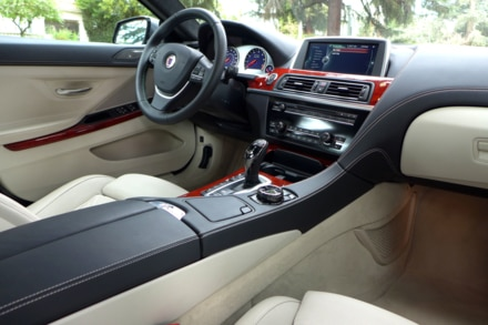 2015 Alpina B6 Interior and dash